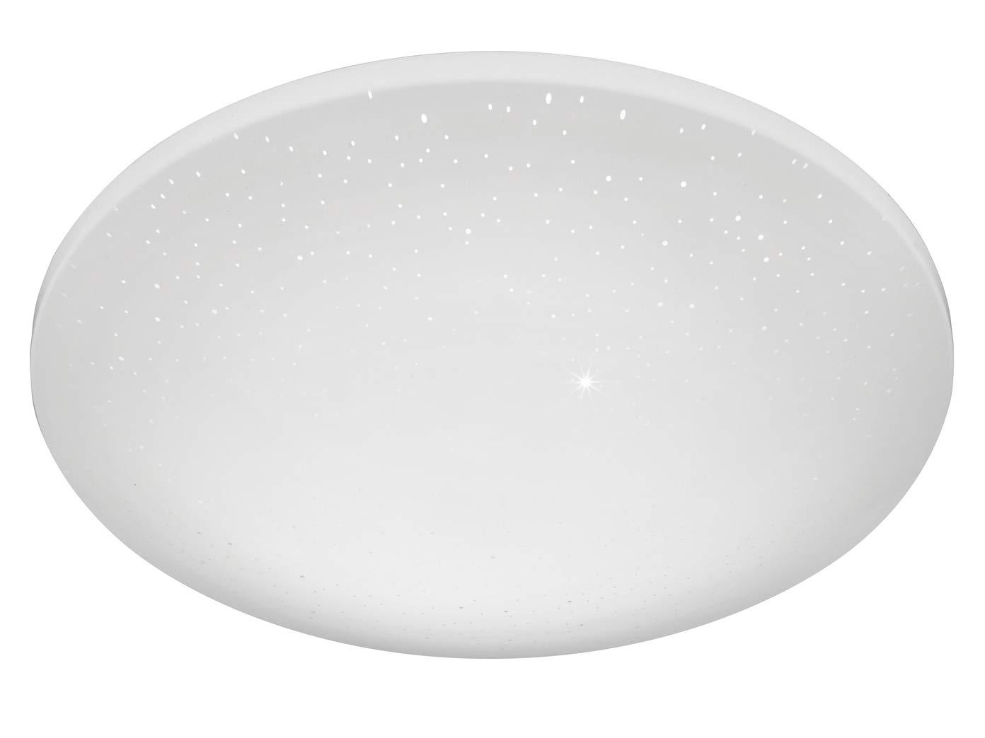 Vielseitige LED Sternenhimmel Deckenleuchte Ø 40cm mit mit mit Fernbedienung - Lichtfarbe einstellbar   stufenlos dimmbar   Nachtlichtfunktion - Badezimmer geeignet e2bbd8