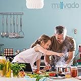 Milvado Stainless Steel Cooking Spatula: Metal