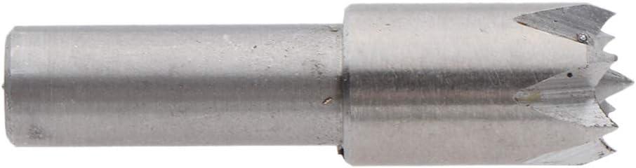 joyMerit 6mm Shank Plum Blossom Thimble Drill Bit Rotary Center Woodworking Tools