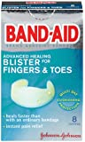 Band-Aid Brand Adhesive Bandages, Advanced Healing Blister Cushions for Fingers & Toes, 8-Count Boxes (Pack of 6)