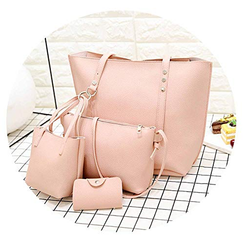 4pcs/Set Leather Tassels Women Tote Shoulder Bags Handbag, used for sale  Delivered anywhere in USA