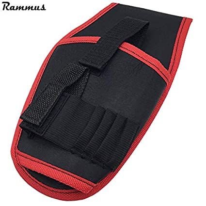 Mini Waist Bag Cordless Drills Holder Storage Pouch for 12V Electric Drill Tool