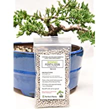 Bonsai Fertilizer Pellets by Perfect Plants - 5 Year Supply - All Natural Slow Release - Immediate Enrichment for All Live Bonsai Tree Species