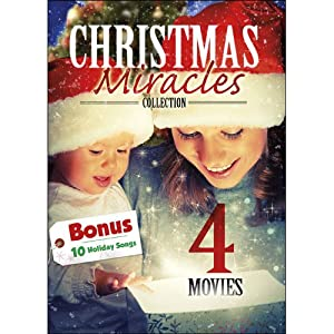 4 Movie: Christmas Miracles Collection with 10 MP3 Holdiay Songs: A Time for Miracles / Angel in the Family / The Sons of Mistletoe / Miracle at Christmas: Ebbie's Story from Echo Bridge Home Entertainment