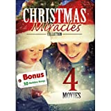 4 Movie: Christmas Miracles Collection with 10 MP3 Holdiay Songs: A Time for Miracles / Angel in the Family / The Sons of Mistletoe / Miracle at Christmas: Ebbie's Story