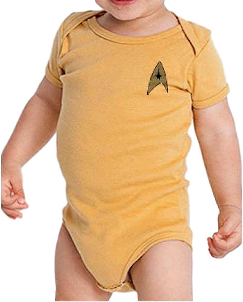 Star Trek Baby Bodysuit Romper Infant Uniform Captain Scientist Engineer 3 Size