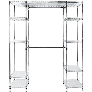 Amazon Com Expandable Closet Organizer System 5 Tier