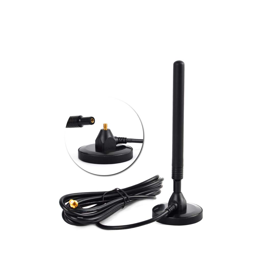 4G LTE 5dBi Omni Blade Antenna With Magnetic Base SMA Male for Cisco Cradlepoint
