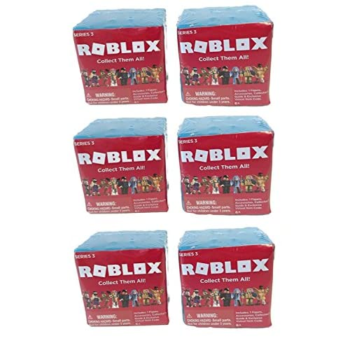 Well Wreapped Roblox Series 3 Action Figure Mystery Box - amazoncom 24 ultimate roblox collection bundled with blind