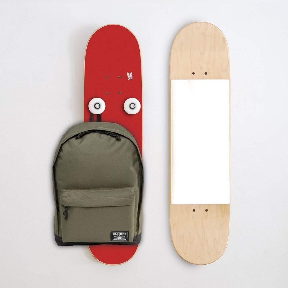 Monopatín Vertical Espejo y Perchero para casa de un Skater ...