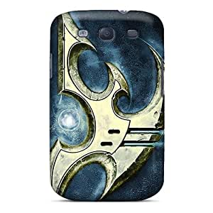 New Customized Design Protoss Starcraft Ii For Galaxy S3 Cases Comfortable For Lovers And Friends For Christmas Gifts