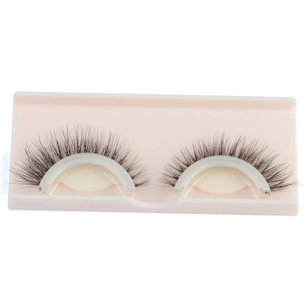 Pestañas postizas Maquillaje de pestañas postizas Self-Adhesive naturales 3D Maquillaje de pestañas postizas.: Amazon.es: Belleza