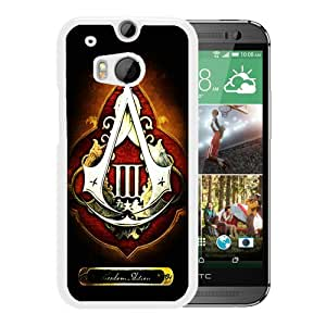 Custom-ized assassins creed 3 freedom edition White Special Custom Made HTC ONE M8 Cover Case