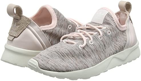 adidas ZX Flux ADV Virtue Socks, Baskets Basses Femme, Rose