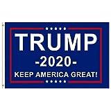 WarmShine Trump Flag & 2020 Donald Trump Keep