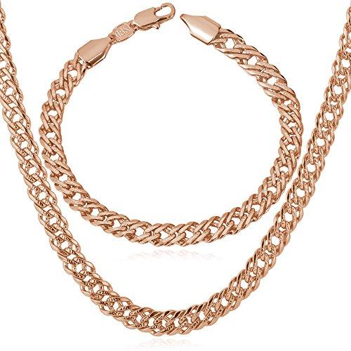 U7 Jewelry Venitian Necklace Bracelet
