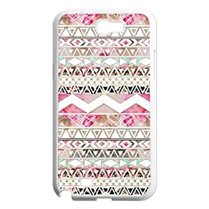 Diy Aztec Tribal Phone Case for samsung galaxy note 2 White Shell Phone JFLIFE(TM) [Pattern-1] by ruishername