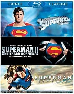 Superman: The Movie / Superman II: The Richard Donner Cut / Superman Returns [Blu-ray]