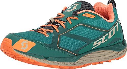 Scott T2 Kinabalu 3.0 Men's Sneakers (12 M, Green Orange)
