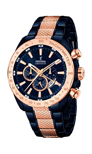 Festina Chrono Sport F16886/1 Mens Chronograph Second Time Zone