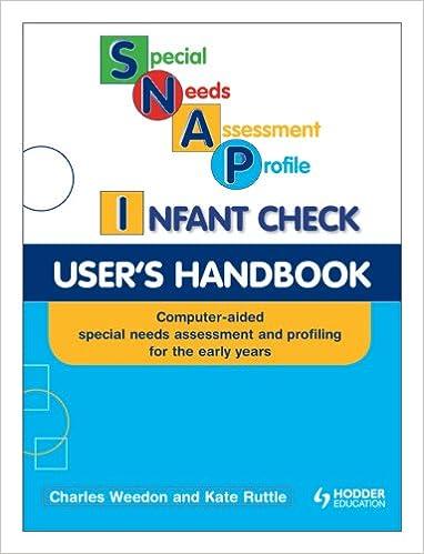 Online Handbook For Special Needs >> Buy Snap Infant Check User S Handbook Special Needs