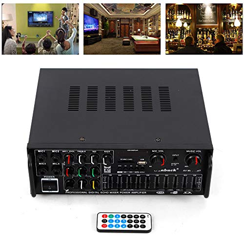 2ch bluetooth home stereo amplifier