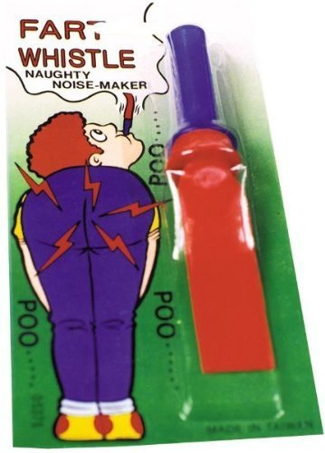 Rubber Razzer Fart Whistle [4 Pieces] - Product Description - A Great Fun Item For Clowns. Hide This In Your Handkerchief, Blow Your Nose And Watch Them Laugh. Give Them A Real Razzzz! ... (Rubber Razzer Fart Whistle)