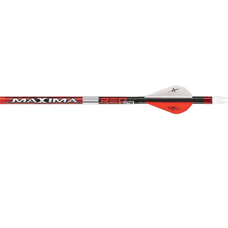 Carbon Express Maxima Red SD 250 Arrows w/ Blazer Vanes - 6 pk