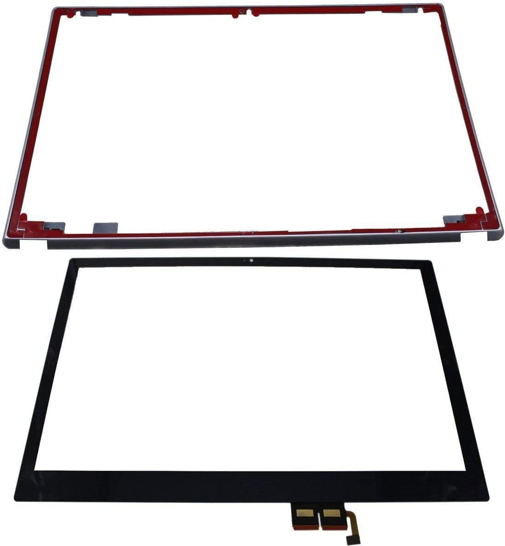 """Bblon 15.6"""" Touchscreen Glass Digitizer Panel + Bezel for Acer Aspire V5-571 V5-571P V5-531P V5-571PG Touch Screen (Not a Completely Display)"""