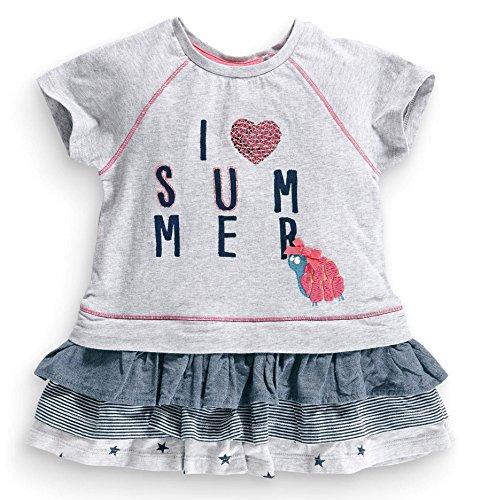 BIBNice Little Girls Tunic Top Jean Short Sleeve Shirt Size 4