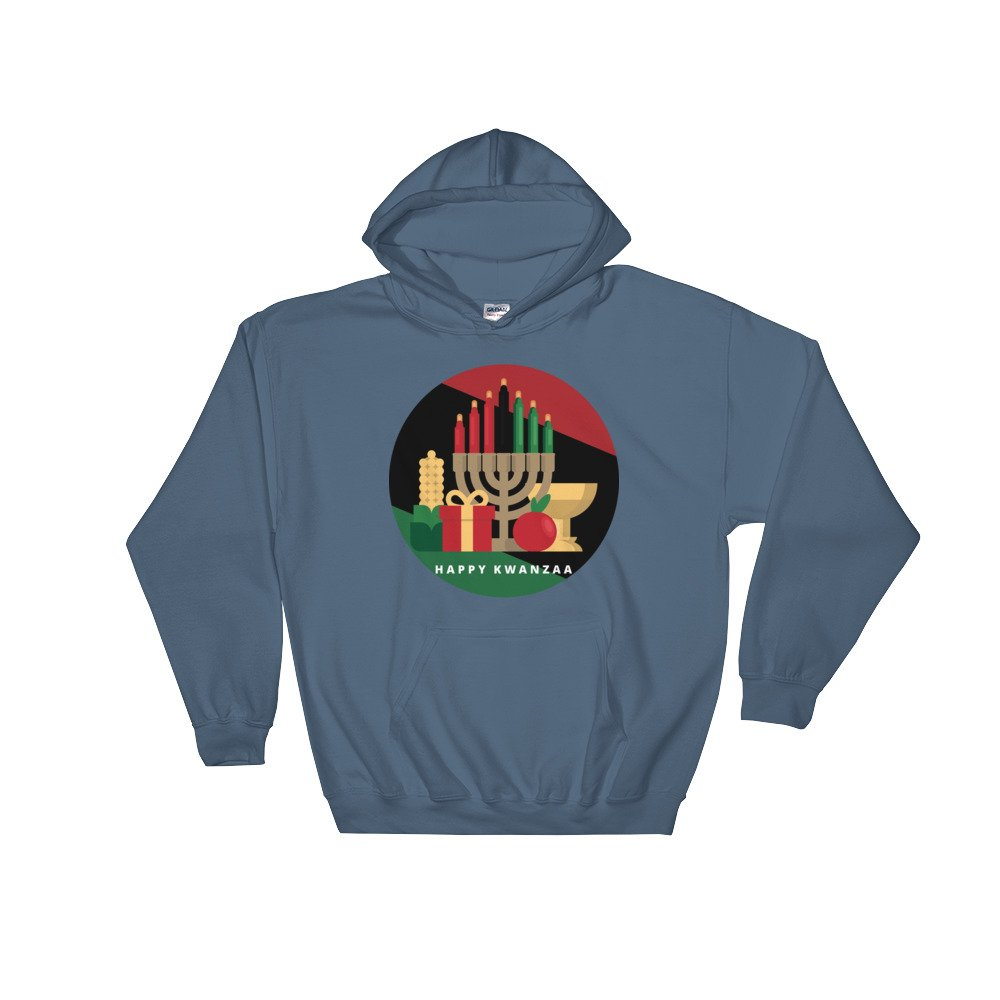 stripe Happy Kwanzaa hoody hoodie Hooded Sweatshirt tee t shirt top
