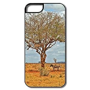 IPhone 5/5S Hard Plastic Cases, Zebras White/black Cases For IPhone 5