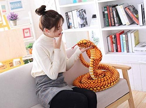260cm Plush Toy Snake, simulatie Snake Cobra Toy Model Realistische Spoof Pet Toy Gift van het kind Hslywan