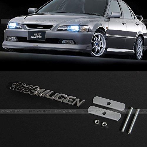 Honda / Acura MUGEN Front Grill Grille Metal Badge Emblem 5