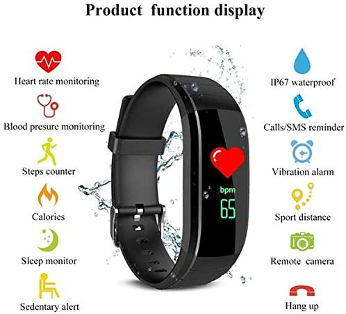 ARONTIME Fitness Tracker with Heart Rate Monitor, Fitness Watch Activity Tracker Smart Watch with Sleep Monitor, Pedometer for Kids Men Women Color Screen