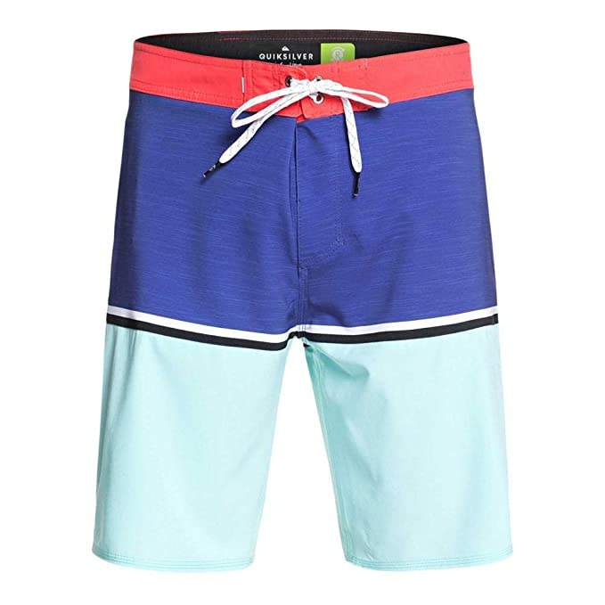 30839f4563 Quiksilver Mens Highline Division 20 Boardshort Swim Trunk Board ...
