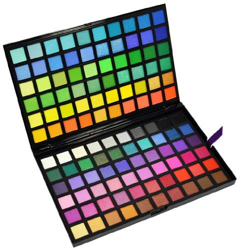 Beauties Factory 120 Color Eyeshadow Palette (#3) - SPECTRUM (120 Full Color Palette)