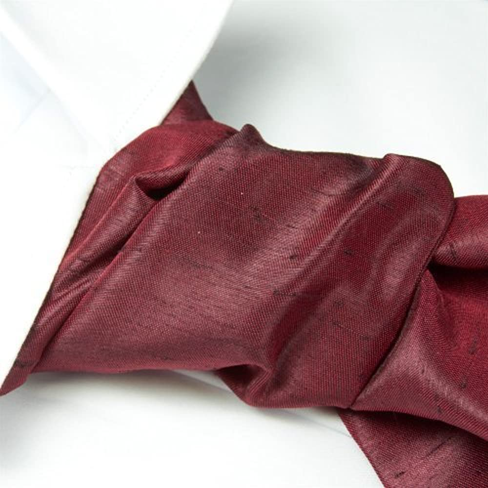 the kilt store Cravat y pañuelo Self Tie Claret: Amazon.es: Ropa y ...