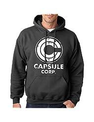Indica Plateau Capsule Corp Dragon Ball Corporation Logo Unisex Adult Hoodie