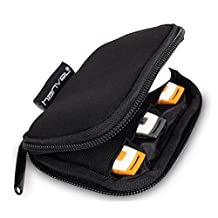 Nylon Fabric Storage Holder/Wallet/Case/Bag/Organizer for USB Flash Drives/Thumb Drives/Pen Drives/Jump Drives