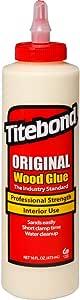 Titebond 5064 Original Wood Glue, 16-Ounces