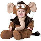 InCharacter Baby's Wee Wooly Mammoth Costume, Brown, X-Small