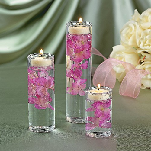 Cylinder Tealight Ceremony Wedding Centerpiece