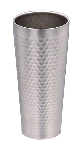 パール金属 真空 タンブラー 430ml 真空槌目 プレミアム贅 HB-517