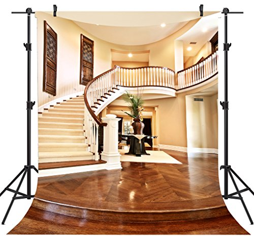 OUYIDA Spiral Staircase 5X7FT Pictorial cloth Customized photography Backdrop Background studio prop TA01