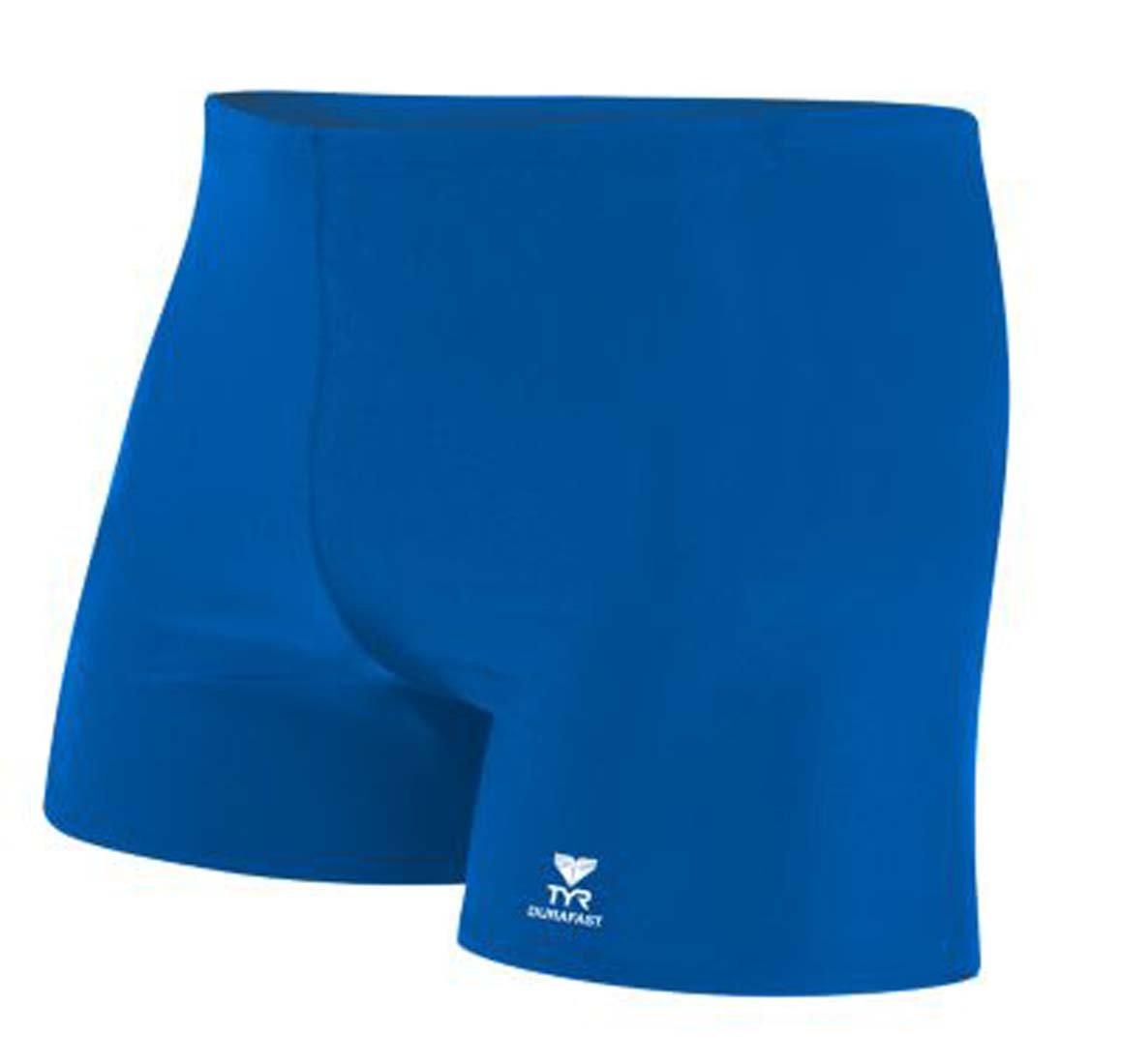 TYR Men's Durafast Elite Solid Square Leg Swimsuit SQDUS7A-P