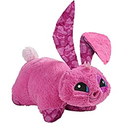 "Pillow Pets Animal Jam, Bunny, 16"" Super Soft Stuffed Animal Plush Toy"