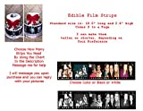 Film Strip Movie Reel Your Own Picture Edible Frosting Image Cake Strip Borders-3/page