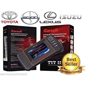 New Version iCARSOFT TYTII for TOYOTA LEXUS ISUZU SCION OBD2 DIAGNOSTIC SCANNER TOOL ERASE FAULT CODES SERVICE RESET BEST #1