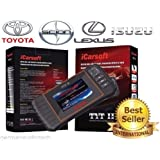 iCarsoft New Version TYTII for Toyota Lexus Isuzu Scion OBD2 Diagnostic Scanner Tool Erase Fault Codes Service Reset…
